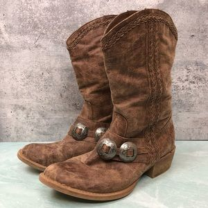 Coconuts by Matisse southwestern booties size 9.5